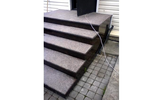 """Лестницы  из гранита - Лестницы из гранита """"Дымовский 3"""""""