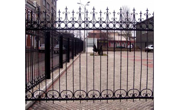 Кованые заборы  - Кованый забор (Арт.: z018)