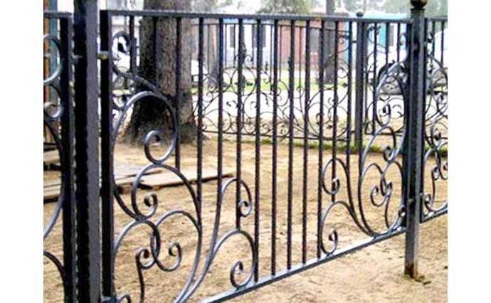 Кованые заборы  - Кованый забор (Арт.: z010)