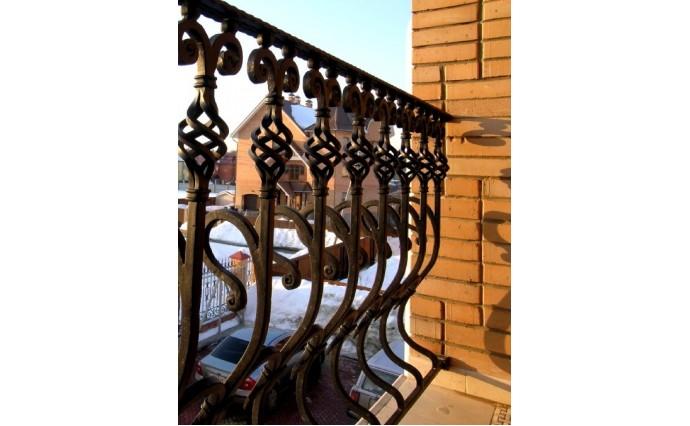 Кованый балкон - Кованый балкон №19