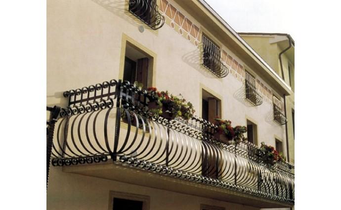 Кованый балкон - Кованый балкон №30