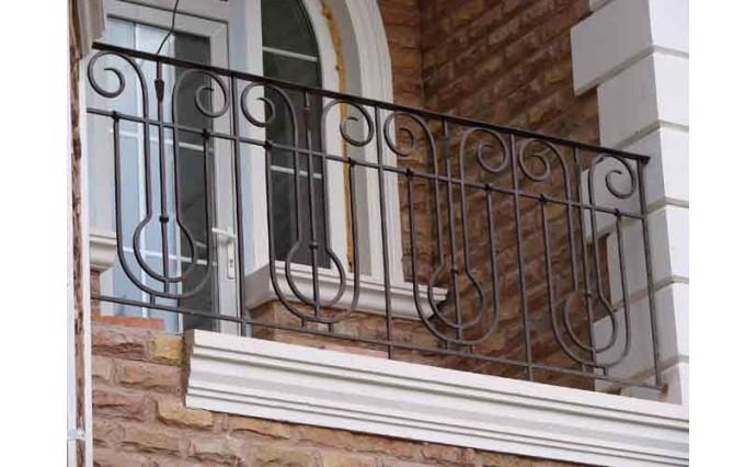 Кованый балкон - Кованый балкон №40