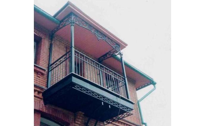 Кованый балкон - Кованый балкон №51