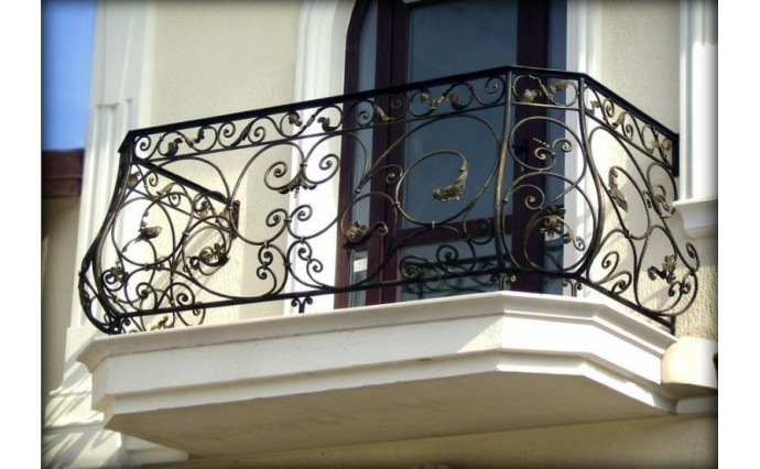 Кованый балкон - Кованый балкон №1