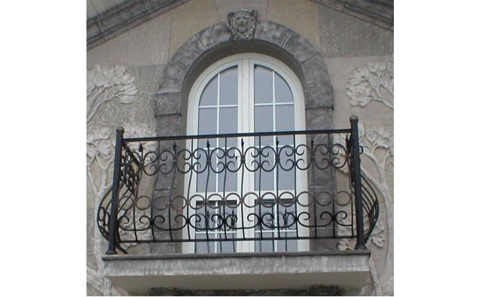 Кованый балкон - Кованый балкон №20