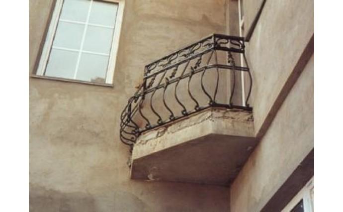 Кованый балкон - Кованый балкон №31
