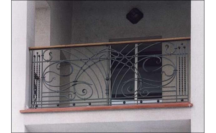 Кованый балкон - Кованый балкон №41