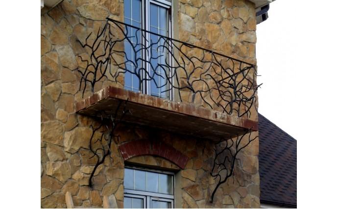 Кованый балкон - Кованый балкон №52