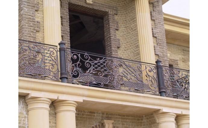 Кованый балкон - Кованый балкон №54