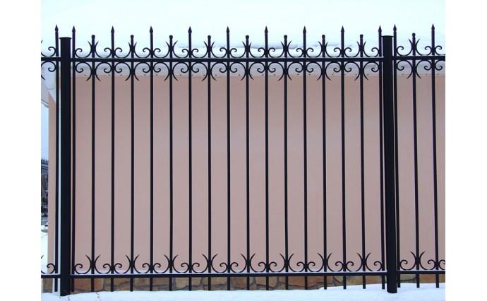 Кованые заборы  - Кованый забор (Арт.: z020)