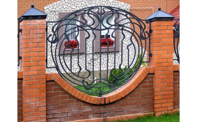 Кованые заборы  - Кованый забор (Арт.: z005)