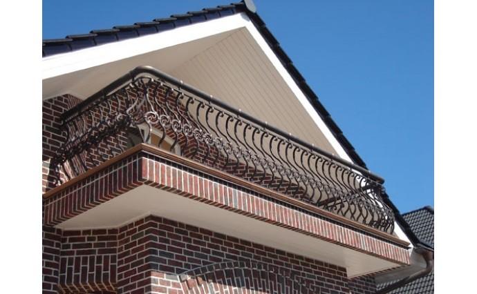 Кованый балкон - Кованый балкон №32