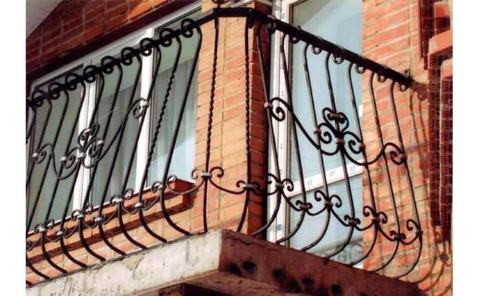 Кованый балкон - Кованый балкон №21
