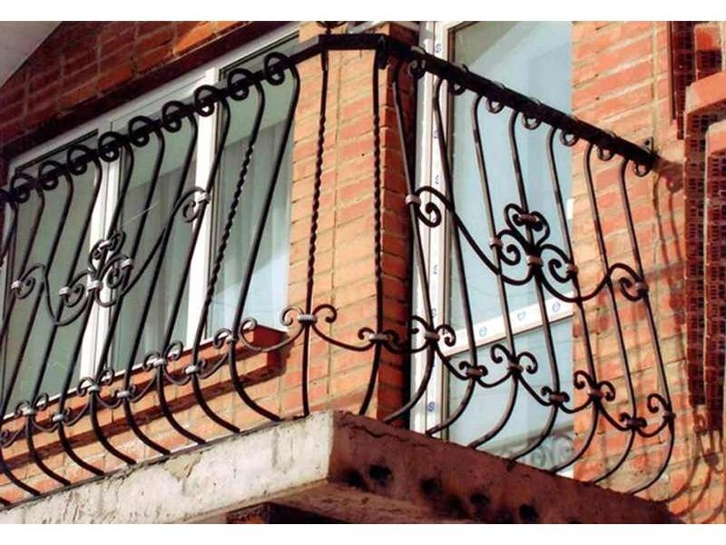 Фото объекта балконные ограждения, москва, не указана, стиль.