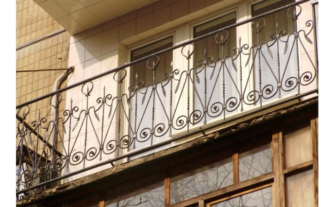 Кованый балкон - Кованый балкон №53