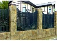 Кованый забор (Арт.: z002)
