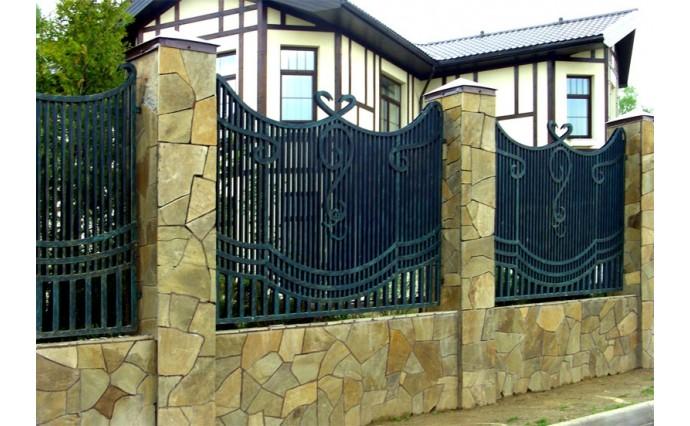 Кованые заборы  - Кованый забор (Арт.: z002)