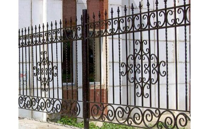 Кованые заборы  - Кованый забор (Арт.: z011)