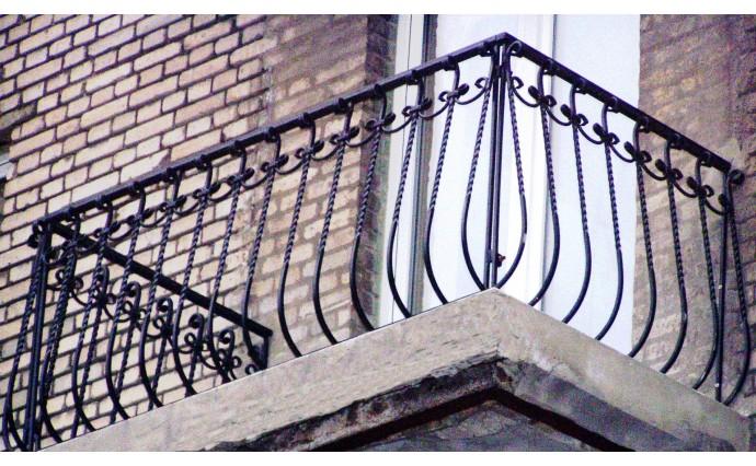 Кованый балкон - Кованый балкон №22
