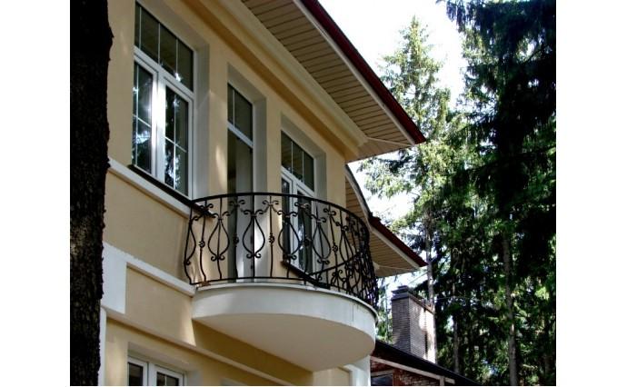 Кованый балкон - Кованый балкон №2