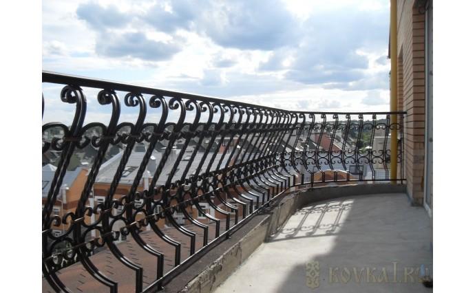 Кованый балкон - Кованый балкон №12