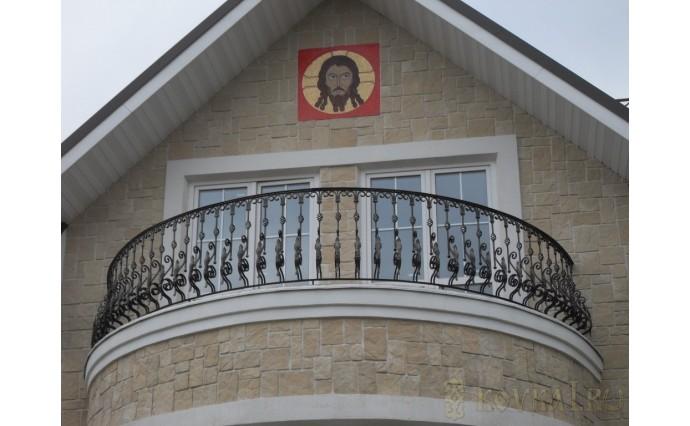 Кованый балкон - Кованый балкон №65