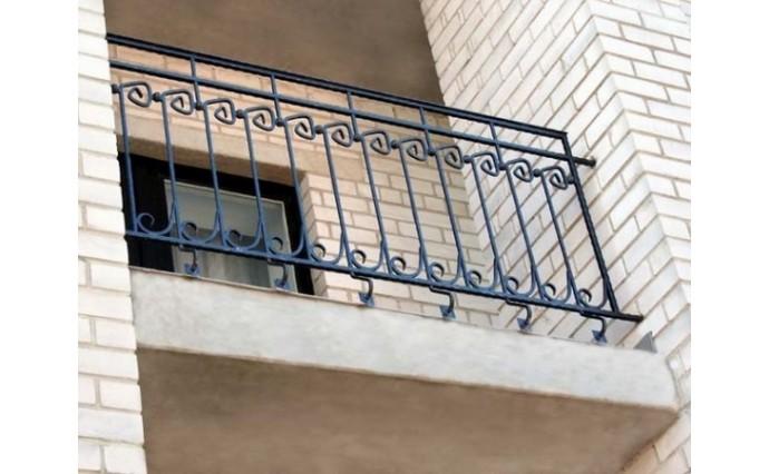 Кованый балкон - Кованый балкон №44