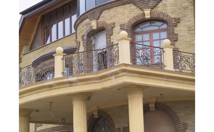 Кованый балкон - Кованый балкон №55
