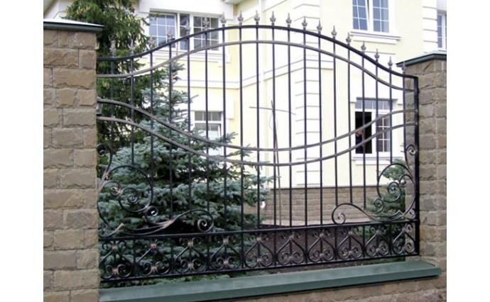 Кованые заборы  - Кованый забор (Арт.: z004)