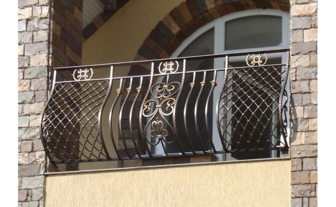 Кованый балкон - Кованый балкон №35
