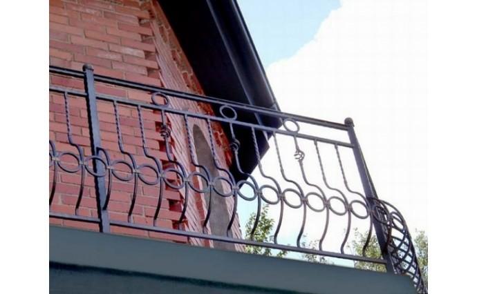 Кованый балкон - Кованый балкон №14