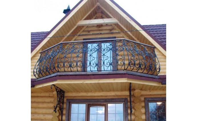 Кованый балкон - Кованый балкон №24