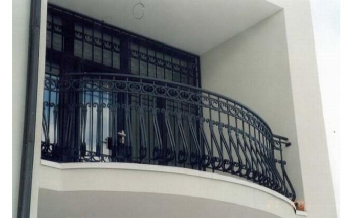 Кованый балкон - Кованый балкон №6