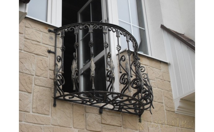 Кованый балкон - Кованый балкон №66