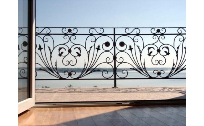 Кованый балкон - Кованый балкон №46