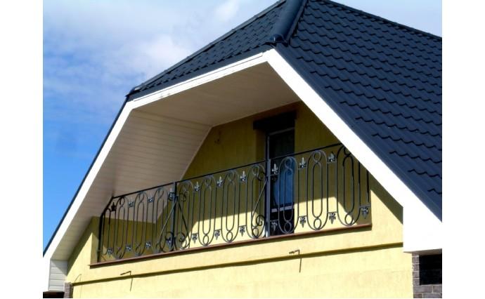 Кованый балкон - Кованый балкон №56