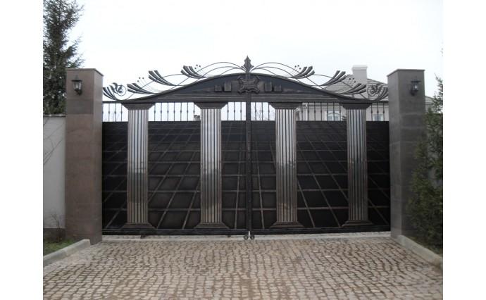 Кованые ворота - Откатные ворота 05