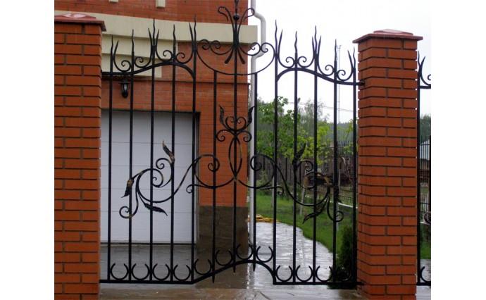 Кованые заборы  - Кованый забор (Арт.: z013)