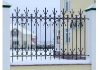 Кованый забор (Арт.: z007)
