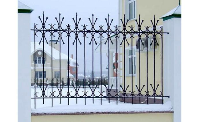Кованые заборы  - Кованый забор (Арт.: z007)