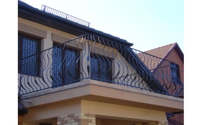 Кованый балкон - Кованый балкон №13