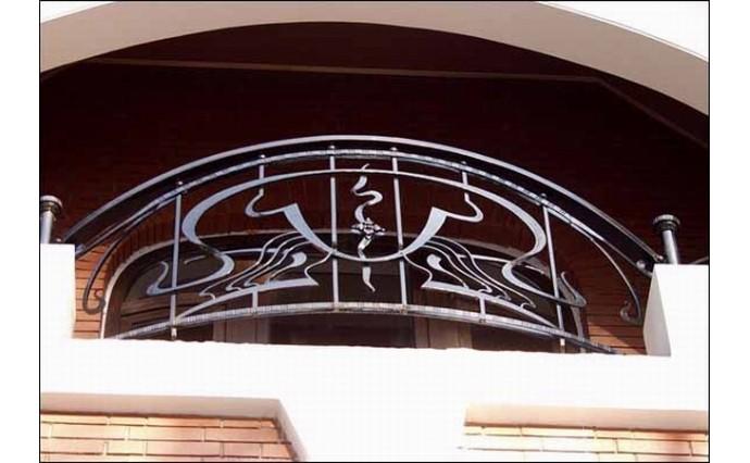 Кованый балкон - Кованый балкон №45