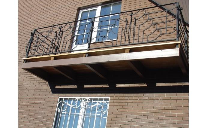 Кованый балкон - Кованый балкон №57