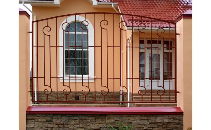 Кованые заборы  - Кованый забор (Арт.: z014)