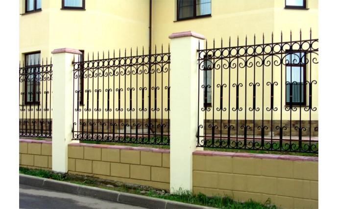 Кованые заборы  - Кованый забор (Арт.: z003)