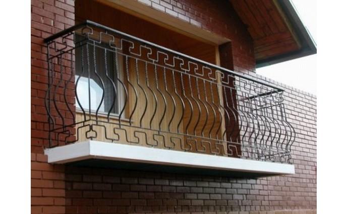 Кованый балкон - Кованый балкон №16