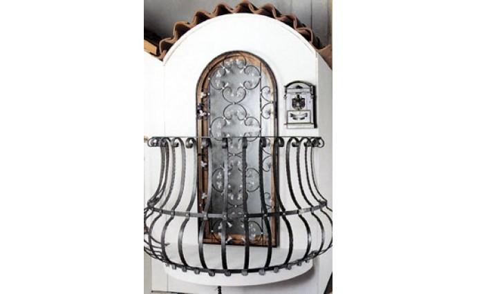 Кованый балкон - Кованый балкон №3