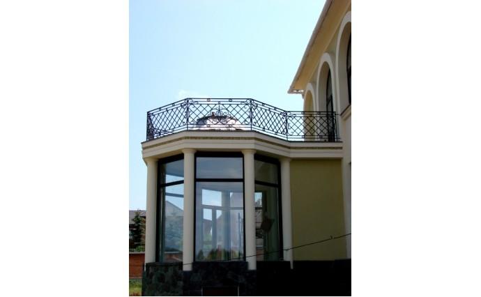 Кованый балкон - Кованый балкон №37