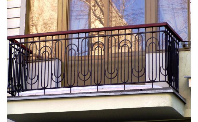 Кованый балкон - Кованый балкон №47