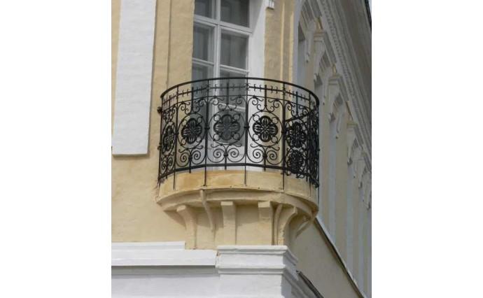Кованый балкон - Кованый балкон №59